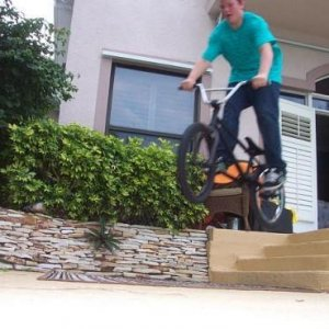 little hop over stairs haha